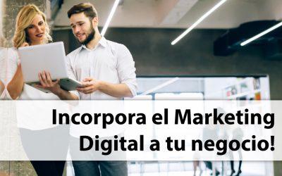 Pásate al Marketing Digital